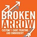 Broken Arrow T Shirt Printing & Embroidery