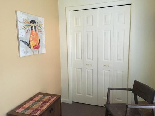 Master bedroom closet area