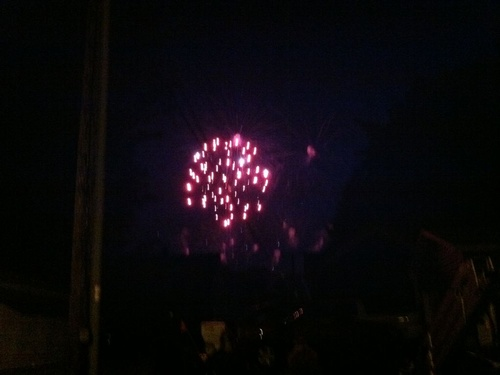 4th of July in Frankfort, watch the show right from your front porch