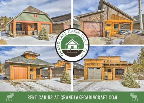NEW upscale cabins for rent in town- click through to see each