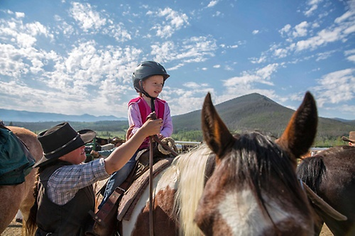 Horseback riding offered with Sombrero Stables