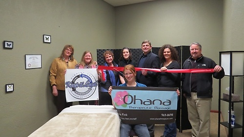 Ohana Therapeutic Massage Ribbon Cutting