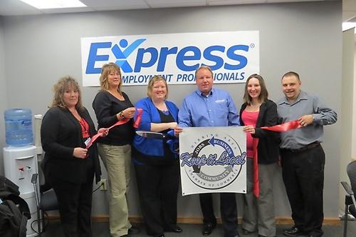 Express Employment Professionals Ribbon Cutting
