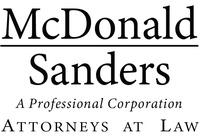 McDonald Sanders, P.C., Attorneys at Law
