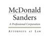 McDonald Sanders, P.C.