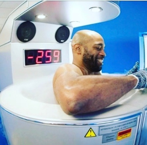 Cryotherapy -eases inflammation
