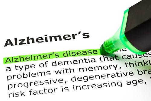 We provide services to those with Alzheimers