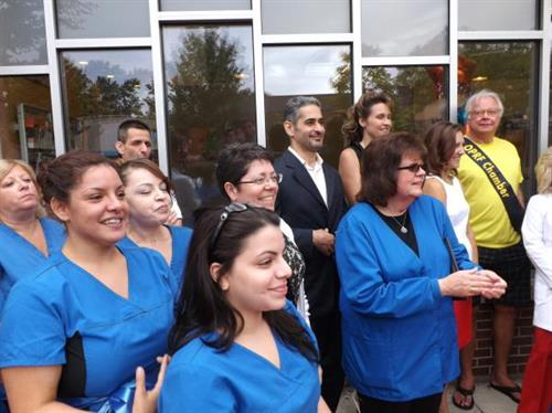 Oak Park Dental Staff at Grand Opening