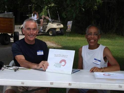 Chamber Table at 2013 Golf Outing