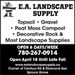 EA landscape supply
