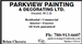 Parkview Painting & Decorating Ltd.