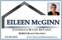 Eileen McGinn - Realtor®- Remax Realty Solutions Osoyoos