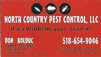 North Country Pest Control, LLC