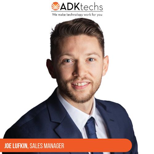 Joe Lufkin, Sales Manager