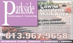 Parkside Landscaping/Quinte Sewer Service