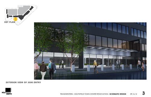 Schematic Designs of 3000 Town Center