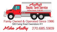 Autry's Septic Tank Service, Inc.