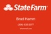 Brad Hamm State Farm Insurance and Financial