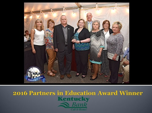 2016 Chamber of Commerce Partners in Education Award Winner