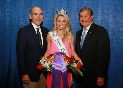 Pictured is our very own Luther Deaton, along with UK President, Eli Capilouto and Miss Kentucky 2016, Laura Jones.