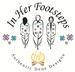In Her Footsteps, Authentic Dene Designs