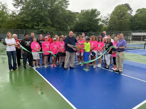 Gallery Image Ribbon%20Cutting%20for%20Hilburn%20Park%20Pickle%20Ball%20Court.jpg