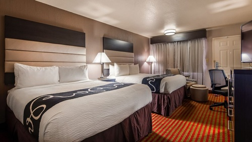 Newly remodeled rooms with two beds