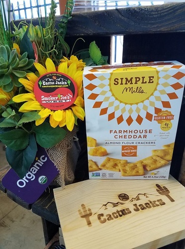Who needs Goldfish?  These cheddar snacks are fantastic and healthy.