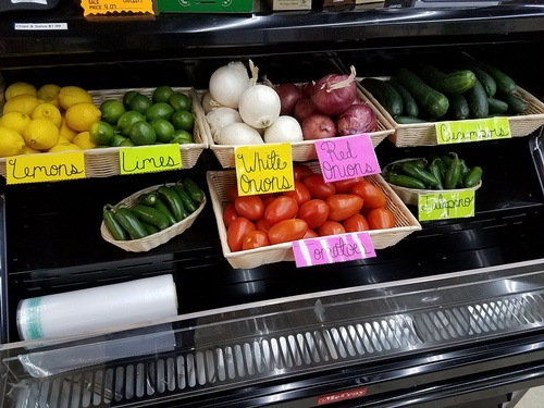 Fresh Produce at Cactus Jacks