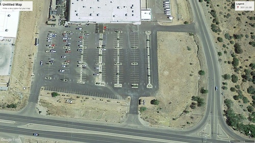 We have ample parking space... and you can even rent the parking lot.