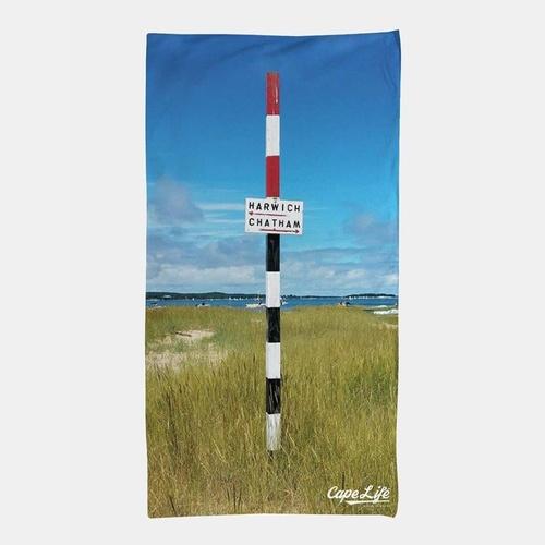 Cape Life Brand Beach Towel