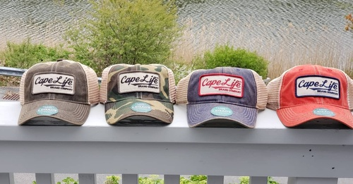 Cape Life Brand Vintage Trucker Hats