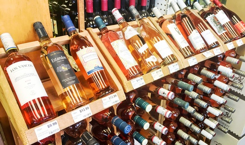 Wine, beer and liquor open 7 days a week