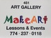 MakeArt Lessons & Events @ 451 ART GALLERY