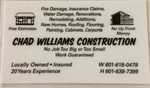 Chad Williams Construction