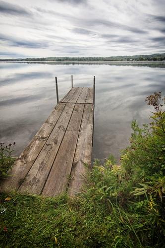 Walking Dock in Front of Cabin #6