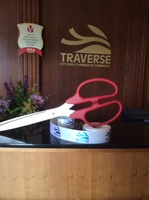Ribbon & Scissors for our Ribbon Cutting Ceremony's