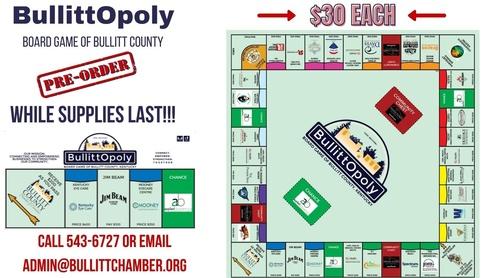 BullittOpoly - The Board Game of Bullitt County