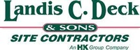 Landis C. Deck & Sons Site Contractor