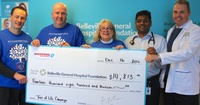Tree of Life Campaign check presentation to BGHF from Shoppers
