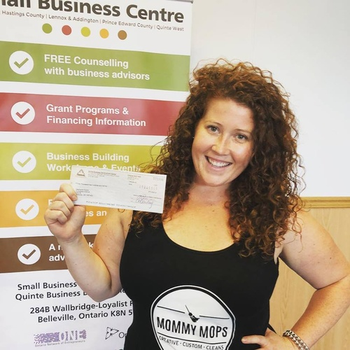 Owner Stephanie receives funding from the StartUp Program