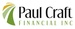 PAUL CRAFT FINANCIAL INC.