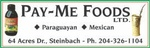 PAY-ME FOODS LTD