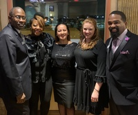 Networking events happen year round like this photo taken at our 2019 Multi-Chamber Holiday Celebration.