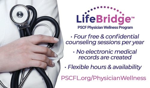 The LifeBridge: Physician Wellness Program is designed to address the seriousness of physician burnout in our community.