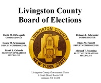 Livingston County Board of Elections