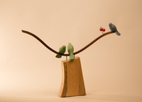 Jerry Alonzo : Works in Wood