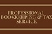 Professional Bookkeeping & Tax Service