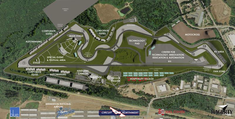 Circuit of the Northwest Master Plan