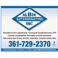 Albin Exterminating  Inc